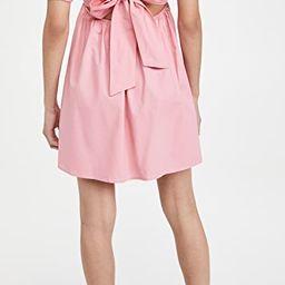 Tie Back Puff Sleeve Mini Dress | Shopbop