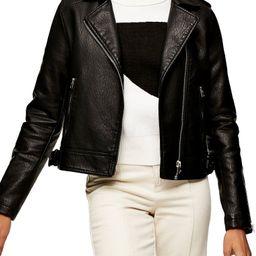 Brandy Faux Leather Moto Jacket   Nordstrom
