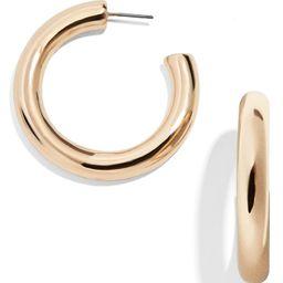 Dalilah Medium Tube Hoop Earrings | Nordstrom