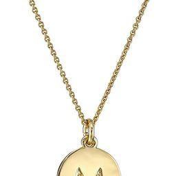 "kate spade new york Gold-Tone Alphabet Pendant Necklace, 18"" | Amazon (US)"