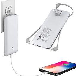 10000mAh Q Portable Charger, Ultra Slim USB C Power Bank, 4 Output Dual Input External Battery Pa...   Amazon (US)
