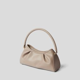 Elleme Handtasche aus Leder in Taupe (1335992) | STYLEBOP (DE)