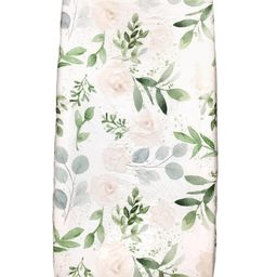 Changing Pad Cover, Crib Sheet, Floral Eucalyptus,Greenery,Farmhouse Style ,Leafy Nursery, Baby g... | Etsy (US)