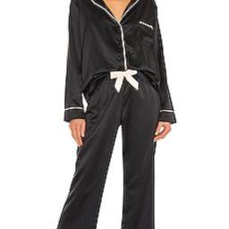 BLUEBELLA Claudia PJ Set in Black from Revolve.com | Revolve Clothing (Global)