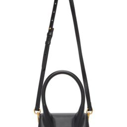 Black 'Le Chiquito Moyen' Top Handle Bag   SSENSE