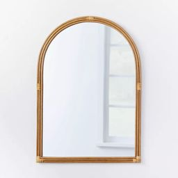 """24"""" x 34"""" Rattan Arched Wall Mirror - Threshold™ designed with Studio McGee   Target"""