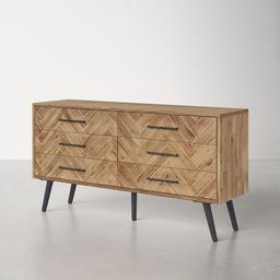 Keziah 6 Drawer Double Dresser | Wayfair North America