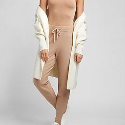 Body Contour Double Layer High Neck Thong Bodysuit | Express