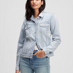 Distressed Icon Denim Jacket With Washwell&#153 | Gap Factory