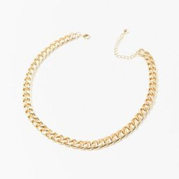 Chunky Curb Chain Necklace | Forever 21 (US)