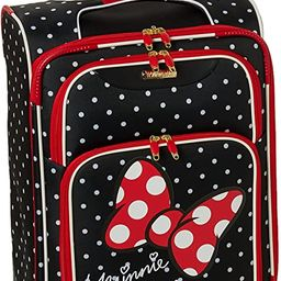 American Tourister Disney Softside Luggage with Spinner Wheels, Minnie Mouse Red Bow, Carry-On 21... | Amazon (US)