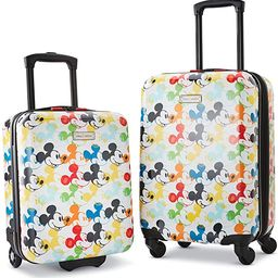 American Tourister Disney Hardside Luggage with Spinner Wheels, Mickey Mouse 2, 2-Piece Set (18/2... | Amazon (US)