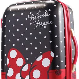 American Tourister Disney Hardside Luggage with Spinner Wheels, Minnie Mouse Red Bow, Carry-On 21... | Amazon (US)