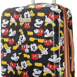 American Tourister Disney Hardside Luggage with Spinner Wheels, Mickey Mouse Classic, Carry-On 21... | Amazon (US)