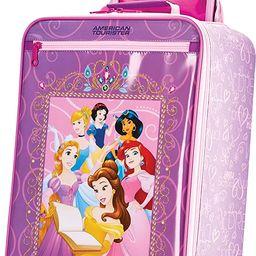 American Tourister Kids' Disney Softside Upright Luggage, Princess 2, Carry-On 18-Inch | Amazon (US)