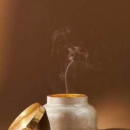 Capri Blue Volcano Capiz Jar Candle   Anthropologie (US)