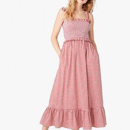 mini gingham smocked-bodice dress | Kate Spade (US)