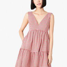 mini gingham vineyard dress | Kate Spade (US)