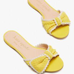 tango slide sandals | Kate Spade (US)