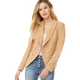 Scoop Women's Double Breasted Crepe Blazer   Walmart (US)
