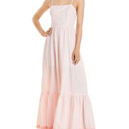 AQUA                                                        Striped Maxi Dress - 100% Exclusive   Bloomingdale's (US)