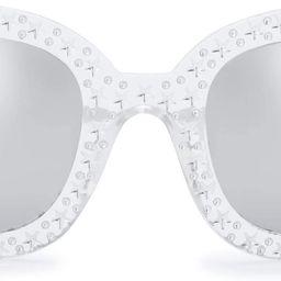 The Fresh Women Cat eye Crystal Shades Sunglasses Gift Box | Amazon (US)