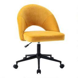 Gunnison Upholstered Office Chair   World Market
