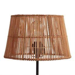 Natural Rattan Accent Lamp Shade   World Market
