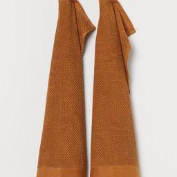 2-pack Cotton Guest Towels | H&M (US)