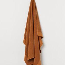 Cotton Terry Bath Sheet | H&M (US)