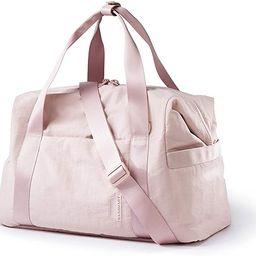 Weekender Bag, BAGSMART Travel Duffle Bag Carry On Bag Large Overnight Bag for Women, Pink | Amazon (US)