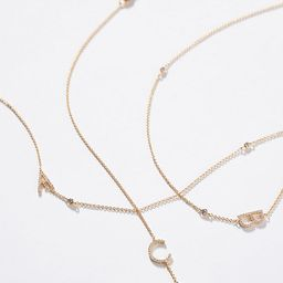 Delicate Monogram Necklace   Anthropologie (US)