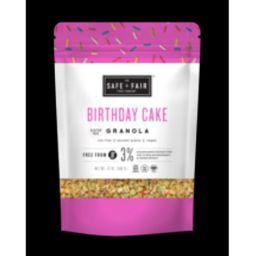 Safe + Fair Birthday Cake Granola   Walmart Online Grocery