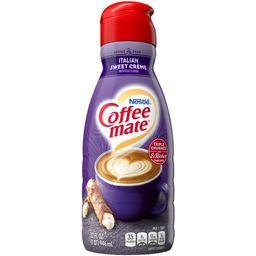 Nestle Coffee mate Italian Sweet Creme Liquid Coffee Creamer 32 fl oz.   Walmart Online Grocery