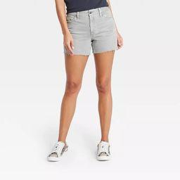 Women's High-Rise Midi Jean Shorts - Universal Thread™   Target