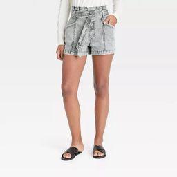 Women's High-Rise Paperbag Shorts - Universal Thread™   Target
