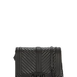 Black on Black Love Crossbody Bag | Rebecca Minkoff | Rebecca Minkoff US