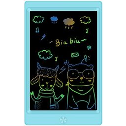 KOKODI LCD Writing Tablet, 10 Inch Colorful Toddler Doodle Board Drawing Tablet, Erasable Reusabl... | Amazon (US)