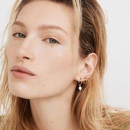 Three-Pack Collector Hoop Earring Set | Madewell