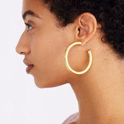 Chunky Oversized Hoop Earrings | Madewell