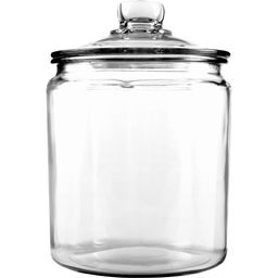 Anchor Hocking Glass Half Gallon Heritage Hill Jar with Cover, 2 Piece | Walmart (US)