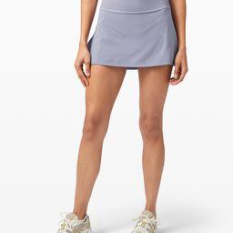 Play Off The Pleats Mid Rise Skirt | Lululemon (US)