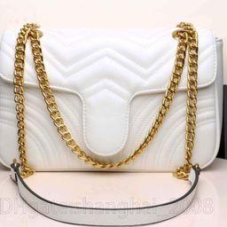 Luxury Designers Bags Women Shoulder Classic Velvet PU Leather Heart Style Gold Chain Handbag Tot... | DHGate