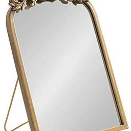 Kate and Laurel Arendahl Glam Table Mirror, 12 x 18, Gold, Traditional Chic Mirror for Wall   Amazon (US)