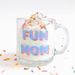Pre-order: Taylor Wolfe X Alice & Wonder - Fun Mom Glass Mug | Alice & Wonder