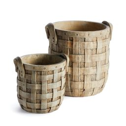 Quogue 2-Piece Pot Planter Set   Wayfair North America