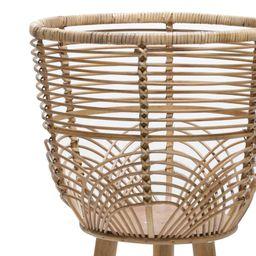 Abrahams 2 - Piece Wicker/Rattan Pot Planter Set   Wayfair North America
