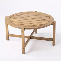 Bluffdale Wood Patio Coffee Table - Threshold™ designed with Studio McGee | Target