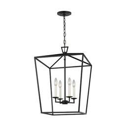 Berneau 4 - Light Lantern Square Chandelier | Wayfair North America