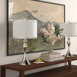 "Wilder 27"" Table Lamp Set (Set of 2) | Wayfair North America"